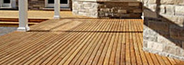 How to build a sustainable backyard deck altruwood for Sustainable decking