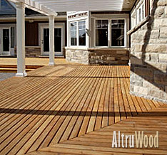fsc certified western red cedar decking FSC® Certified Western Red Cedar Decking