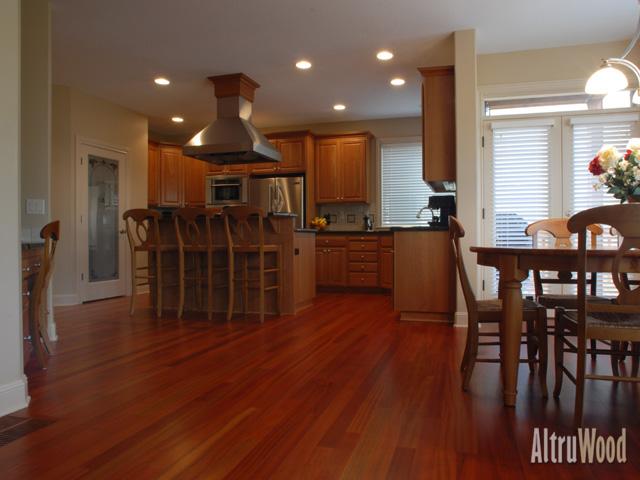 Perfect AltruWood Jatoba Flooring