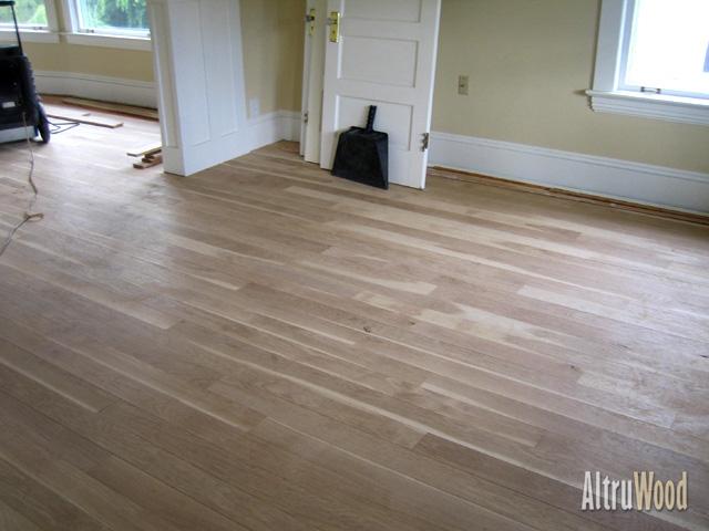 White Oak Flooring Unfinished Designs
