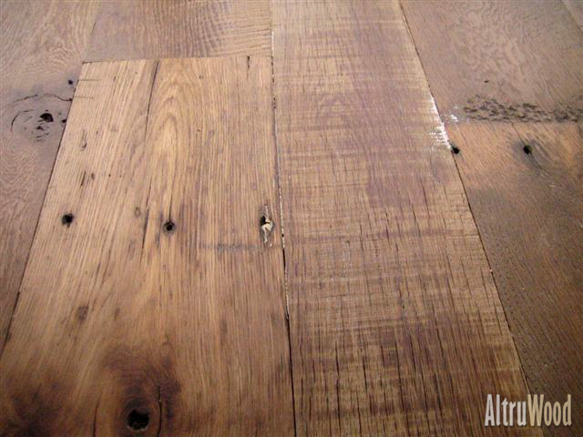 Reclaimed wood altruwood for Recycled wood floor
