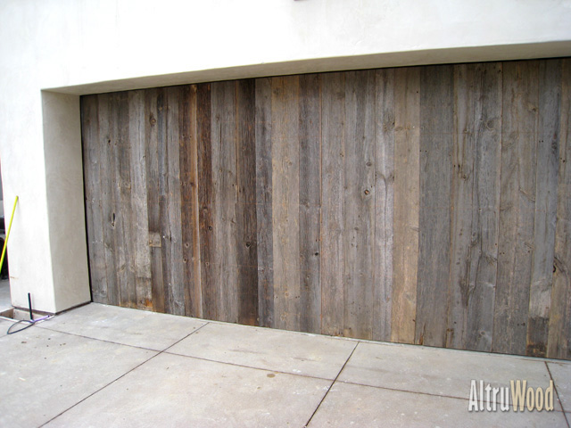 FSC Certified Wood Products - Reclaimed Barn Siding Silver AltruWood