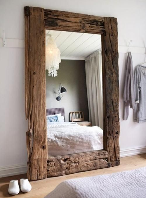 Mirror Reclaimed Wood Picture Frames 3 Ways