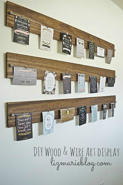 Wood and Wire Reclaimed Wood Picture Frames 3 Ways