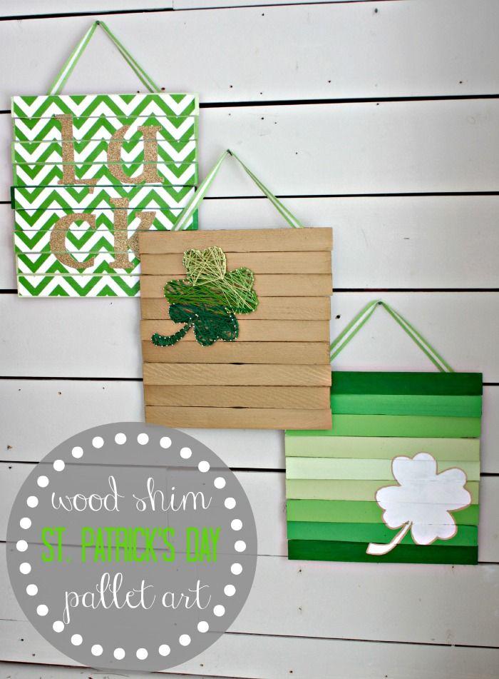 Altruwood Blog Saint Patricks Day Crafts Fun St. Patricks Day Wood Gifts and Decorations