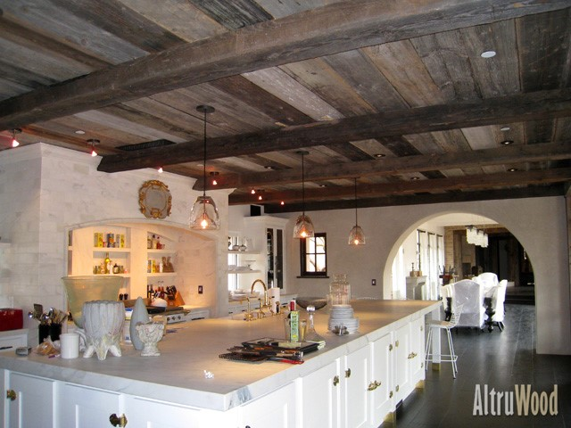 Altruwood Handhewn Beams 1 Style Elements:  Handhewn Beams for Higher Ceilings and Old School Charm