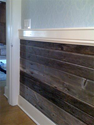 Reclaimed Wood Trim Altruwood Altruwood