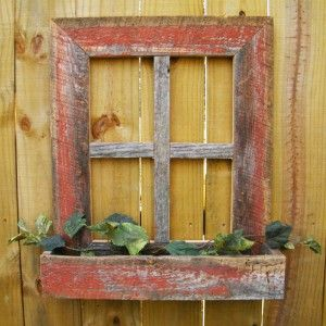 Altruwood WindowBoxes1 Spring Home Style: Reclaimed Wood Window Boxes
